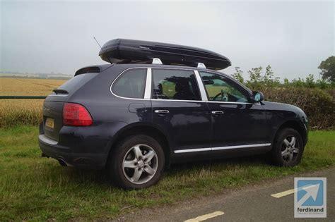 porsche box porsche cayenne roof box ebay road trip ferdinand