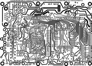 Pjrc Mp3 Player  Printed Circuit Board Layout
