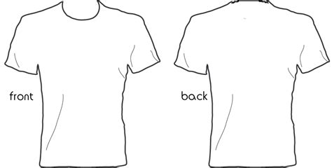 Tshirt Design Template Png by T Shirt Design Template Cliparts Co