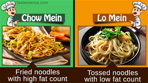 what is the difference between chow mein and lo mein chow mein vs lo mein noodles