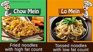 Chow Mein Vs. Lo Mein Noodles
