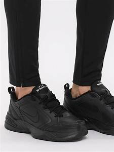 Foot Size Chart Us And India Buy Nike Black Air Monarch Iv Shoes For Men Online In India