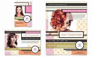 letterhead examples design hairstylist flyer ad template design