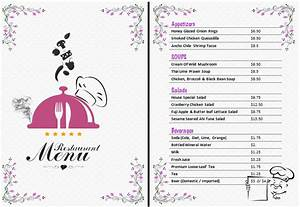 ms word restaurant menu office templates online With drink menu templates microsoft word