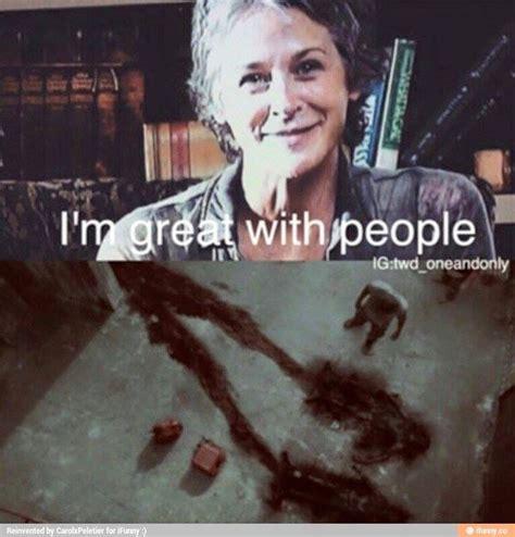 Walking Dead Carol Meme - 191 best images about dead inside on pinterest dead inside the walking dead and walking dead