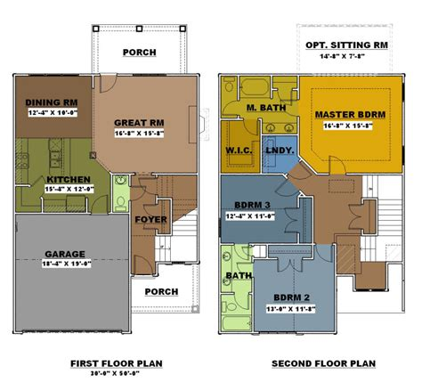 smart placement one and a half story house ideas floor plans connor place gated townhouse community in