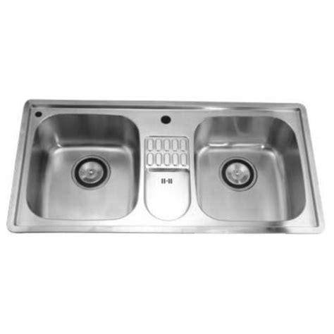 kitchen sinks combination drop in series stainless steel