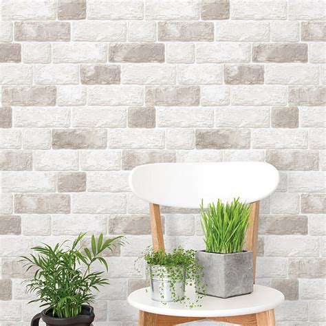 05x5m Pvc Mosaic Wall Paper Modern Self Adhesive
