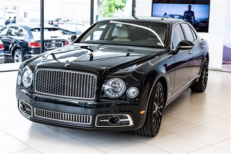 Bentley Mulsanne 2019 by 2019 Bentley Mulsanne Wo Bentley Edition Stock 9n004407