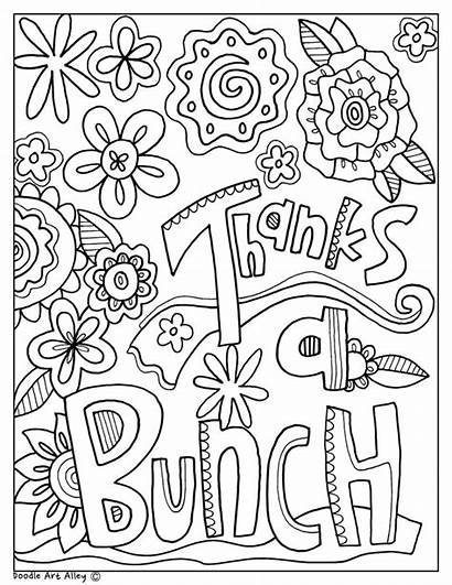 Coloring Teacher Appreciation Printable Week Thank Nurse