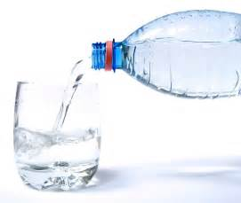 bottled pure water
