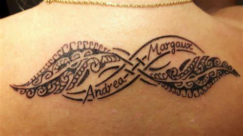 tatouage infini  plume maori tatouages tatouage