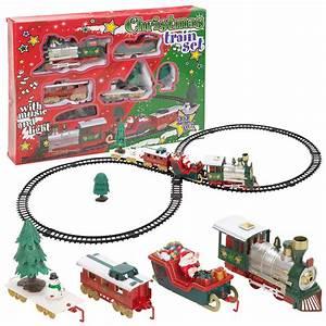 Train Electrique Noel : christmas musical train track toys set kids party birthday gift decoration new ebay ~ Teatrodelosmanantiales.com Idées de Décoration