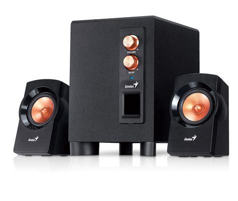 genius sw 2 1 360 speaker inspan announces availability of sw 2 1 360 powerful
