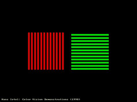 irtel color vision demonstration mccollough effect