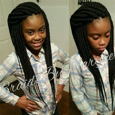 kids box braids   braids  marijke kids box