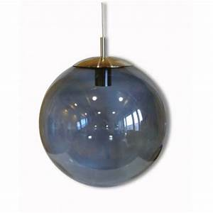 Suspension Boule En Verre : suspension boule en verre souffl par angel des montagnes ~ Melissatoandfro.com Idées de Décoration