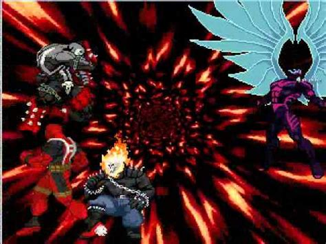 Angelghost Rider Vs Deadpoolspawn Youtube