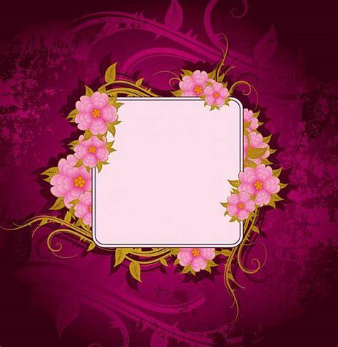 flowers frame frame  frame flower frame printable