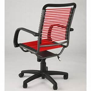 Bungee High Back Office Chair Red And Black In Office Chairs