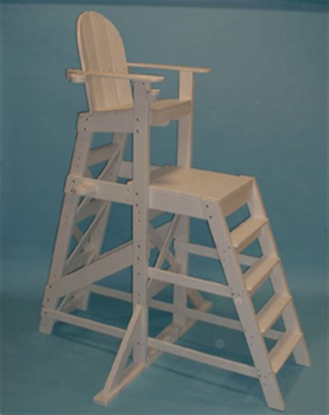tlg535 tall large lifeguard chair with front ladder tall