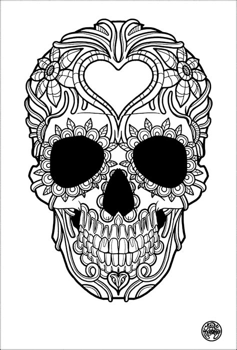 19 of the Best Adult Colouring Pages {Free Printables for