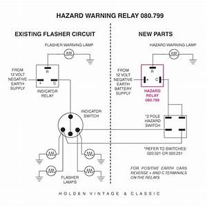 Car Hazard Light Wiring Diagram