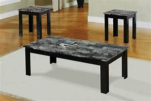 Coffee tables ideas set of marble coffee table sets 3 for Antique white coffee table sets