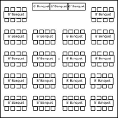 tent layouts seating capacity chart 171 aa and tent