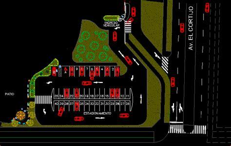car parking dwg block  autocad designs cad