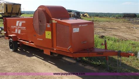 Air Curtain Destructor Cp2000t by Construction Equipment Auction In Hutchinson Kansas By