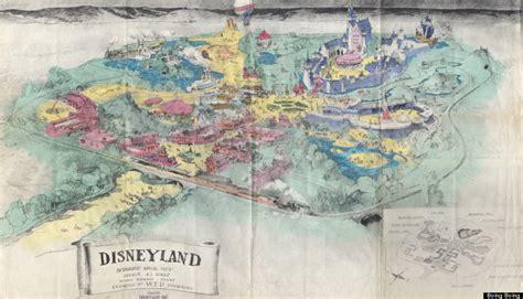 original plans  disneyland   happiest