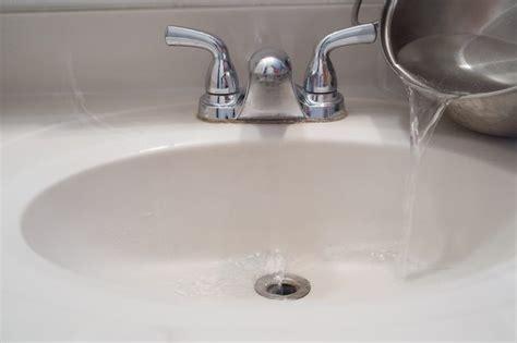 How To Clean Black Sludge In Bathroom Sink Drains Ehow
