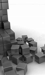 Building Structure From Cubes. Abstract Architecture ...