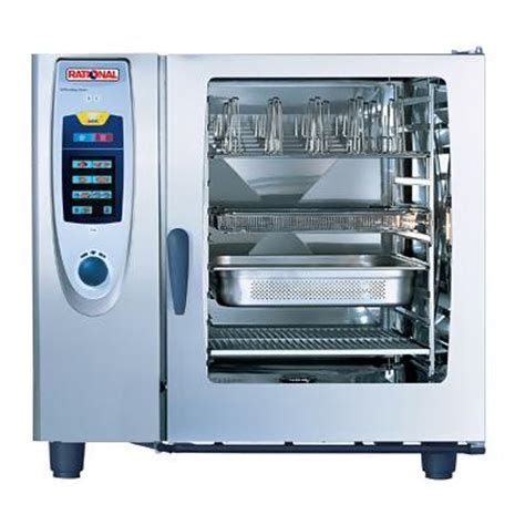 rational cuisine rational sccwe102e combi steamer self cooking center