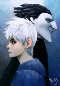Jack Frost and Pitch Black