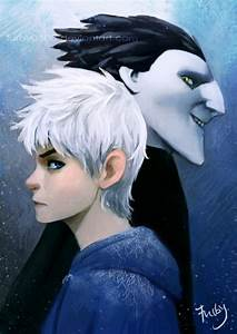 Pitch and Jack Frost by Furby0305 on DeviantArt
