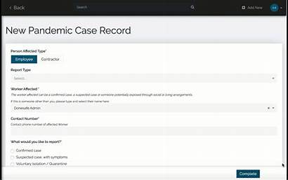 Pandemic Covid Infectious Disease Management Case Tracking