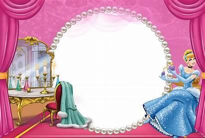 Cinderella Transparent Frame Cadre Frames Enfant Clipart