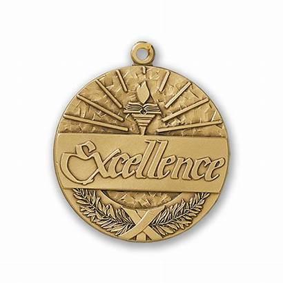 Medallion Excellence Awards Medallions Pinit Teacher Brass
