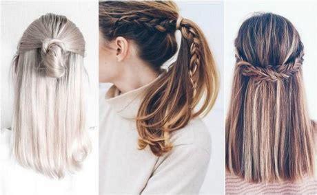 szybka fryzura dlugie wlosy