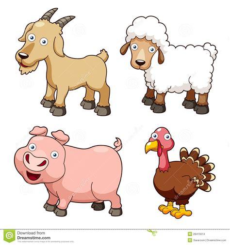 farm animals cartoon clipart   cliparts