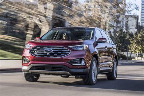 2019 ford edge 2019 ford edge st revealed as proper performance variant