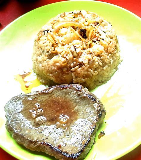 plat cuisiné facile un plat cuisiné facile riz aux oignons et chignons