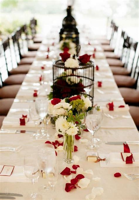 images  mariage rouge  blanc  pinterest