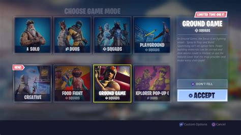 ltm ground game joins  rotation    days