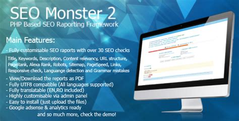 Codecanyon Seo Monster 2 Nulled
