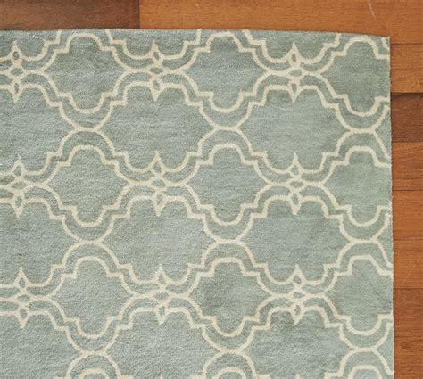 master bedroom rug pottery barn scroll tile rug