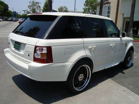Land Rover Range Rover Sport Modification by Rrsrsick 2007 Land Rover Range Rover Sport Specs Photos