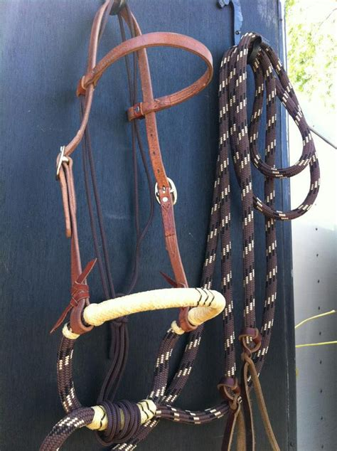 buckaroo hackamore loping leather mecate soft horse nose why bosal reins tack history winters most richard hack